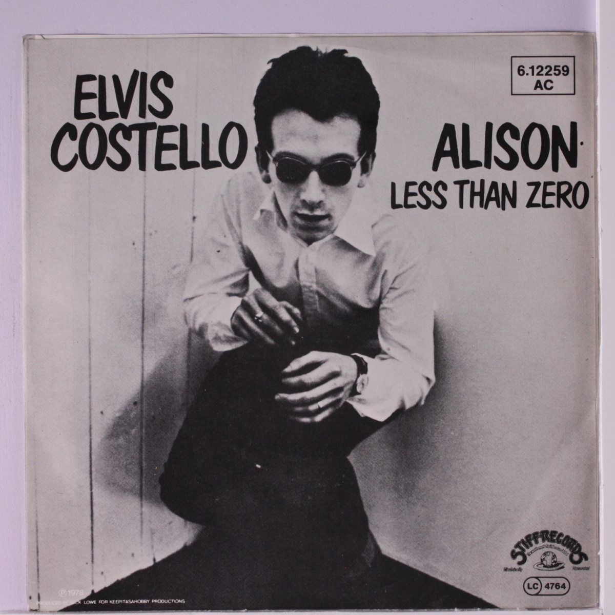 "Elvis Costello, ""Alison"""