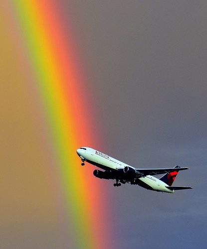 767 Rainbow Takeoff, Adam Christensen