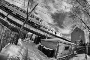 """Brown Line"" by Kevin Klima"