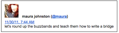 @maura, Maura Johnston