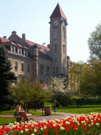 Imagine me just dragged my overcaffeinated bones through this beautiful campus