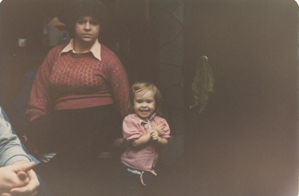 Allison with Sharon