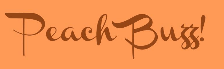 Peach Buzz!