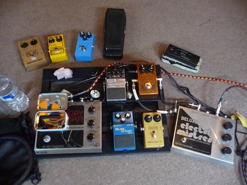 pet theories guitar pedal board