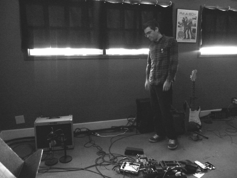 Brian with his pedals