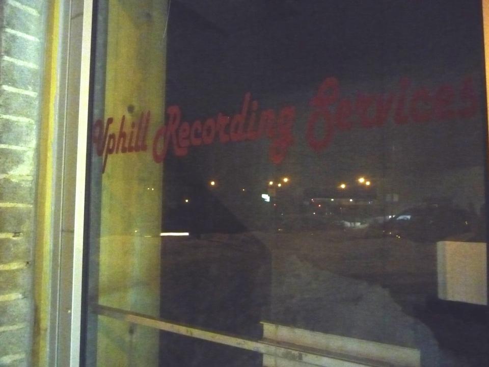Uphill Recording at Night