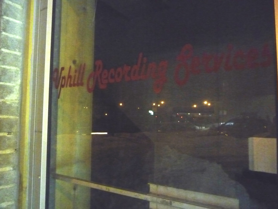 Uphill Recording at Night