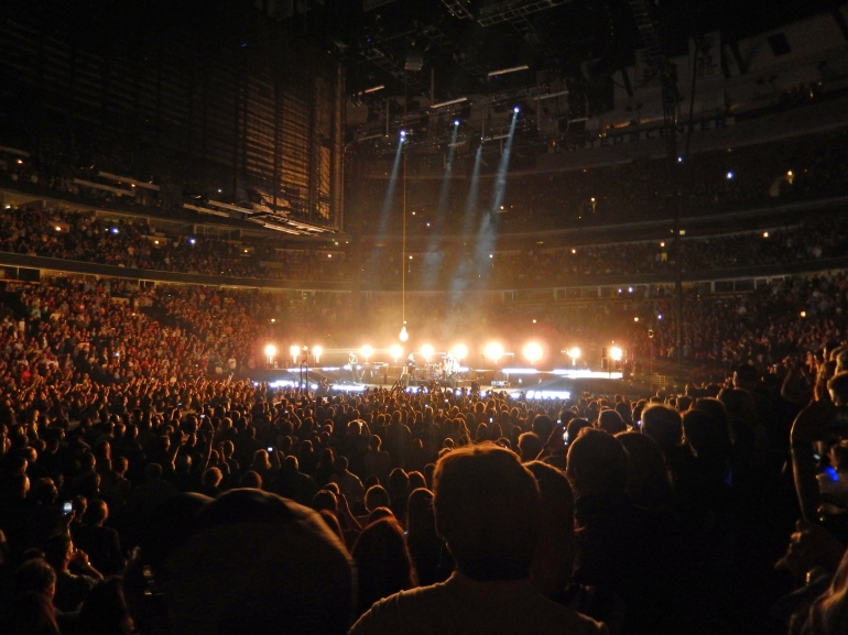 U2 at the United Center June 2015