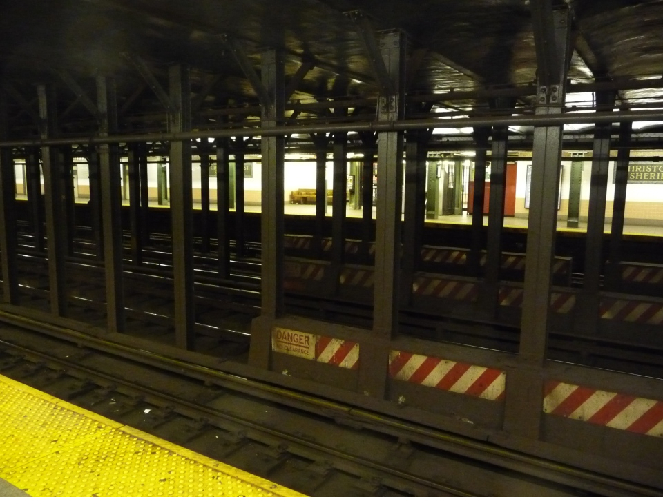in the new york subway 2009