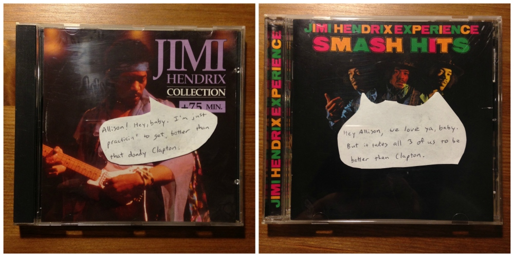 two hendrix CD comps