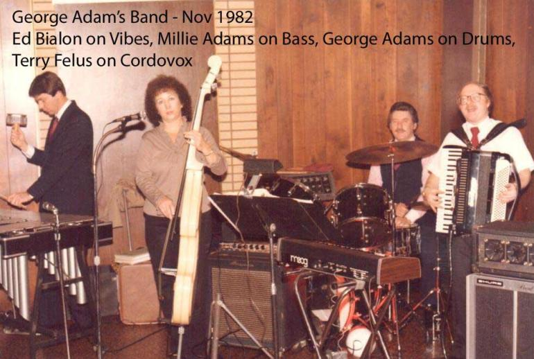 george adams band with terry felus
