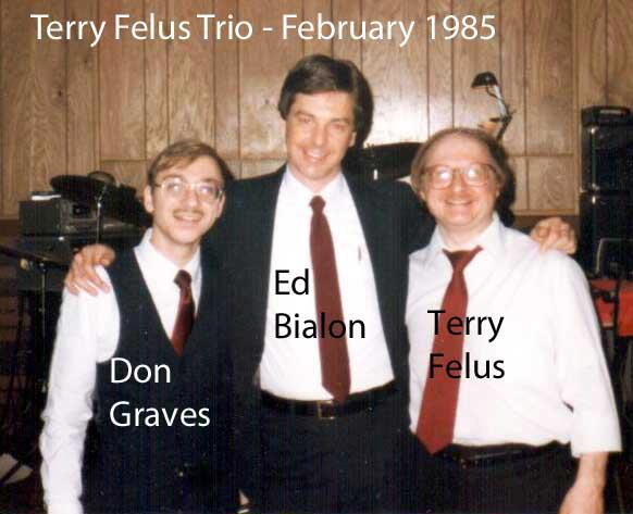 terry felus trio 1985