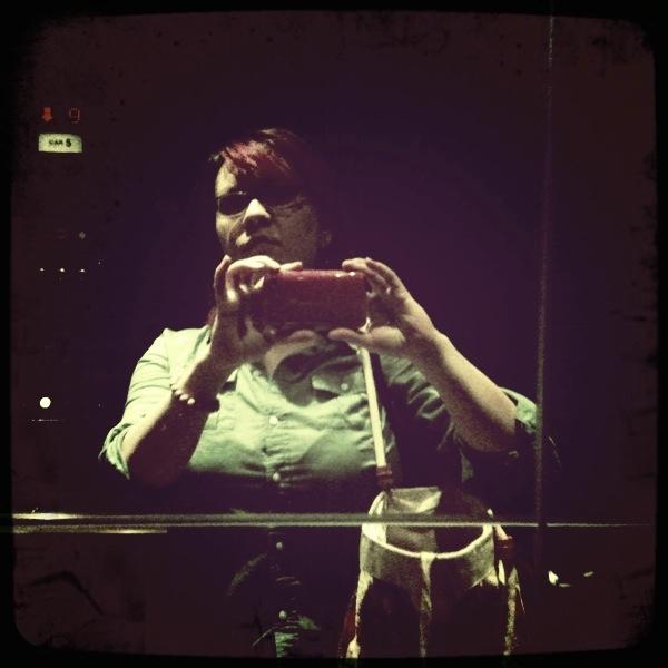 Amateur wife flashing elevator